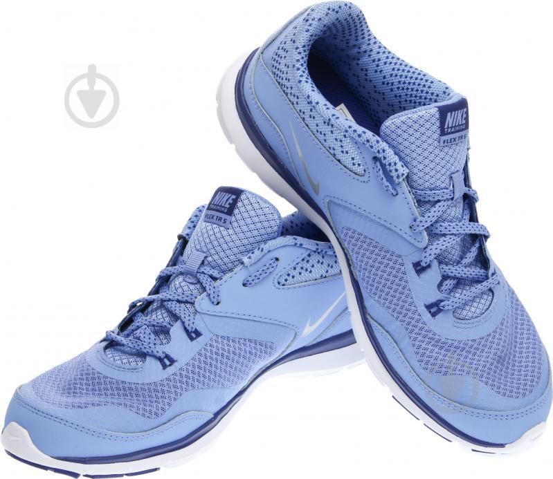 Кроссовки Nike FLEX TRAINER 5 р. 6 голубой 749184-405-6 - фото 1
