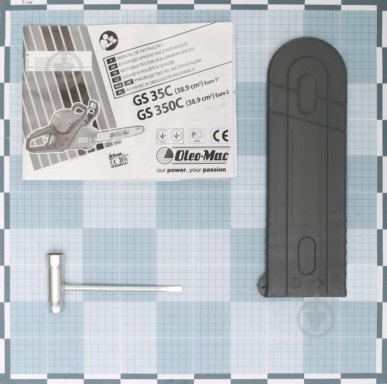 bfc212292eb70e ᐉ Бензопила Oleo-Mac GS 35 • Краща ціна в Києві, Україні • Купити в ...