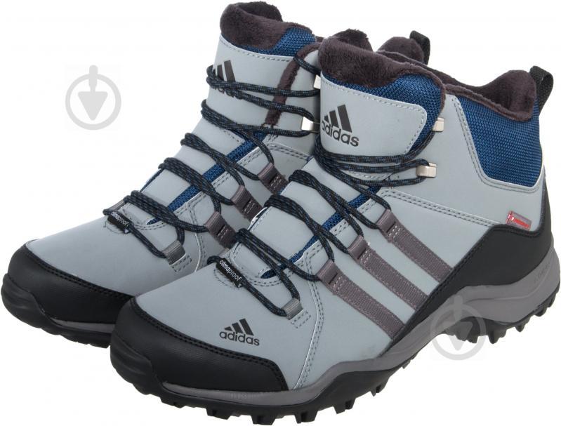 Ботинки  Adidas CW Winterhiker II CP AQ4111 р.42 черный с серым - фото 1