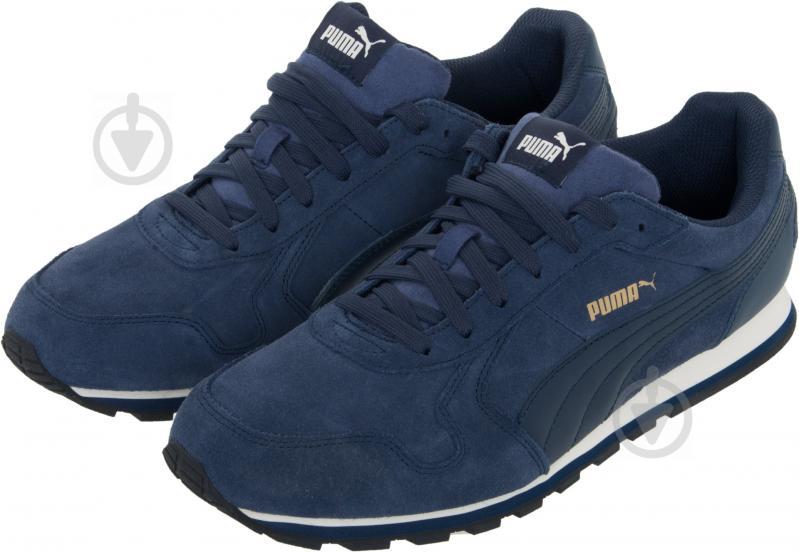Кроссовки Puma ST Runner SD 35912804 р. 4.5 темно-синий - фото 2