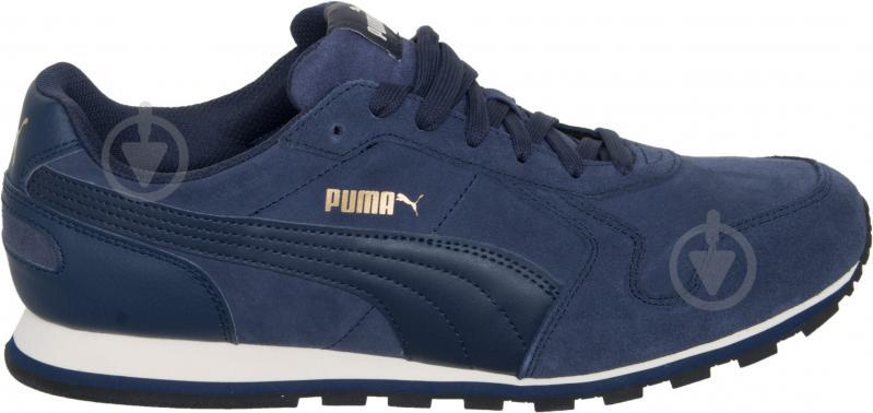 Кроссовки Puma ST Runner SD 35912804 р. 4.5 темно-синий - фото 5