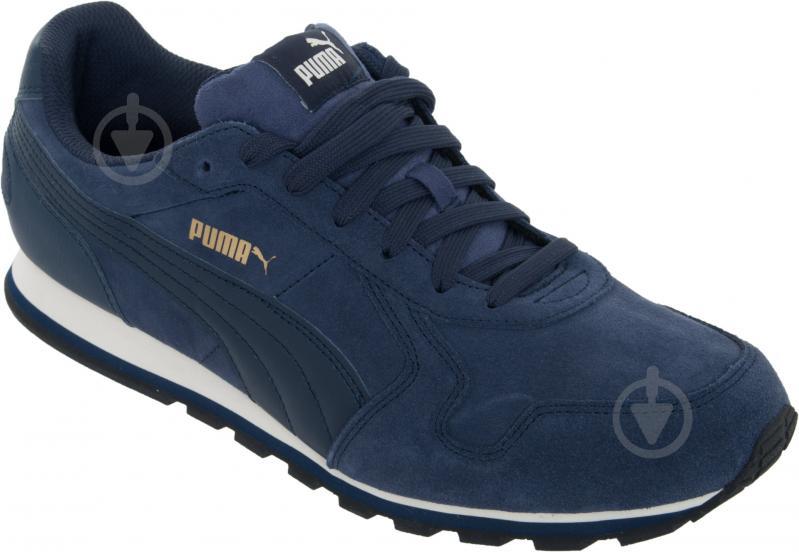 Кроссовки Puma ST Runner SD 35912804 р. 4.5 темно-синий - фото 3
