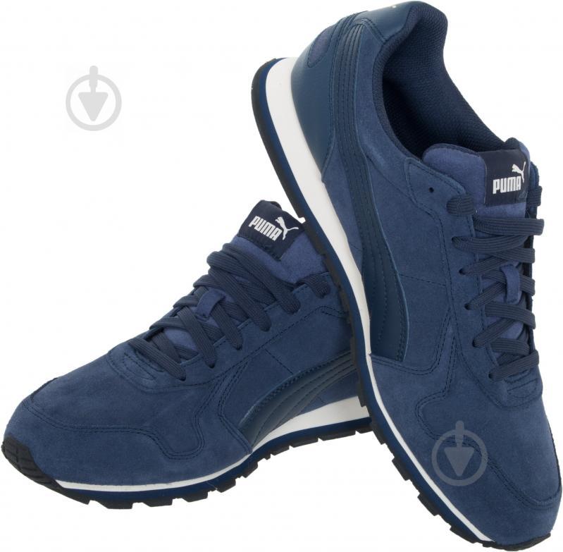 Кроссовки Puma ST Runner SD 35912804 р. 4.5 темно-синий - фото 1