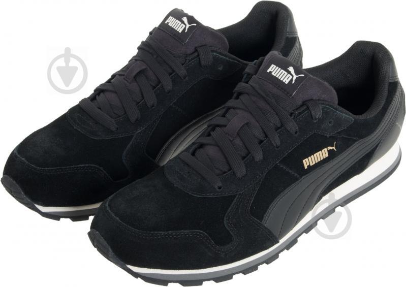 Кроссовки Puma ST Runner SD 35912801 р.5 черный - фото 2