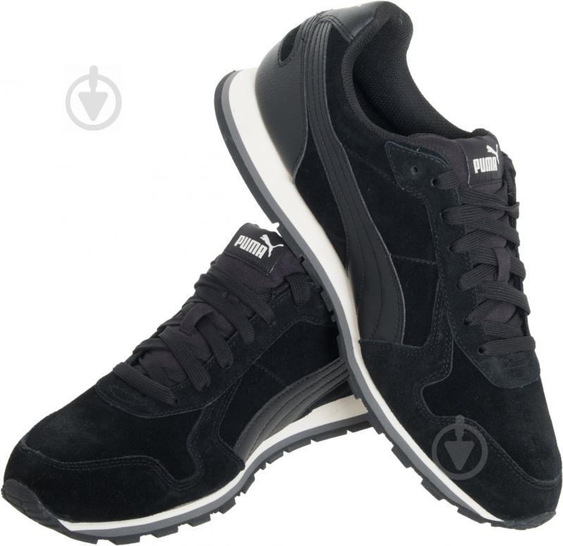 Кроссовки Puma ST Runner SD 35912801 р.5 черный - фото 1