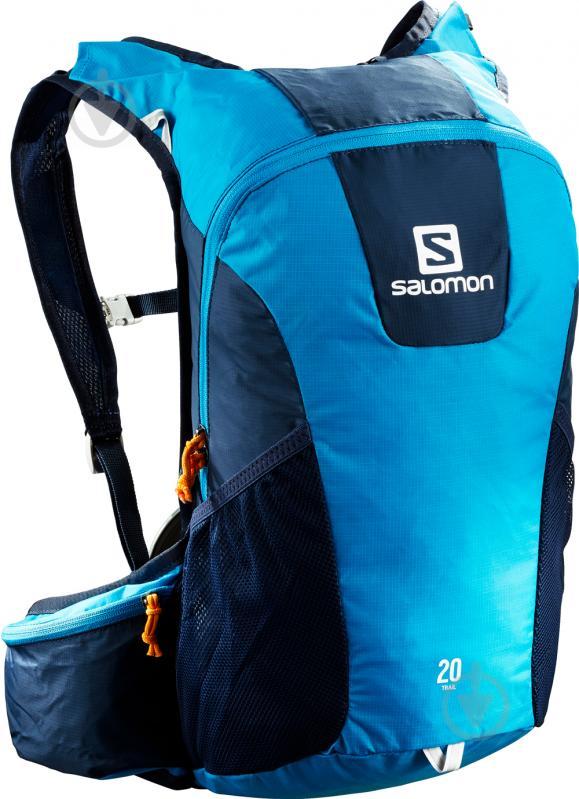 Рюкзак Salomon Trail 20 л голубой с синими вставками L39748500. 1 260Купить!  грн. 27.ua. Доставка  Киев 9e0f88d98c2b9