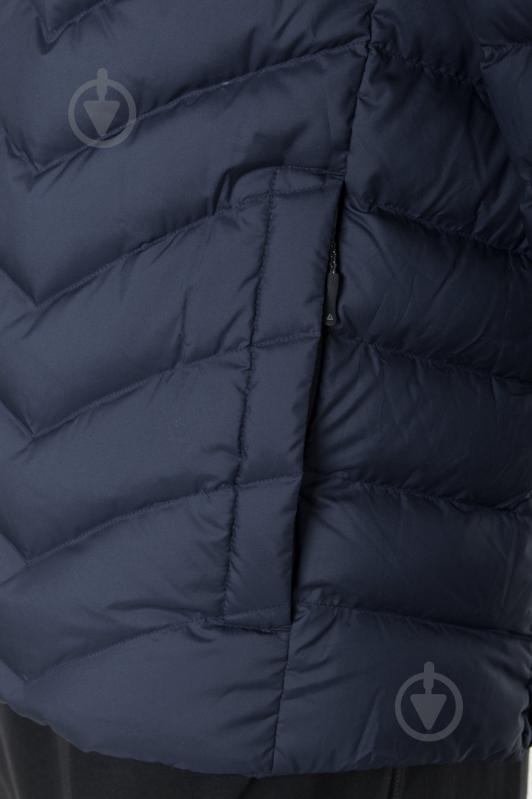 Куртка Reebok с капюшоном р. L синий AX8998 - фото 7