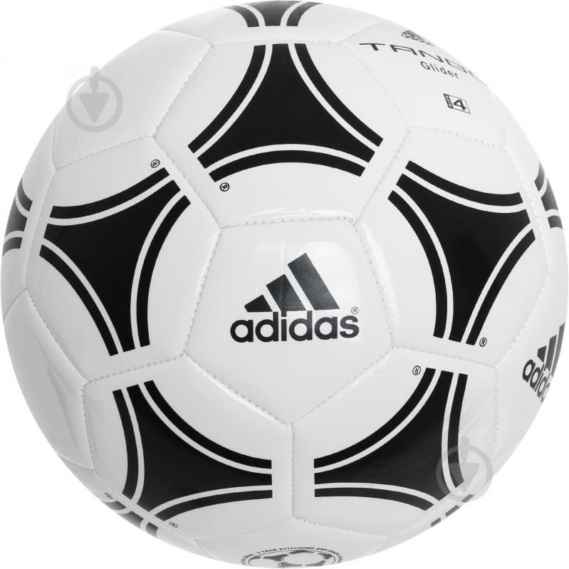 Футбольный мяч Adidas р. 4 сувенирный S12241 - фото 1