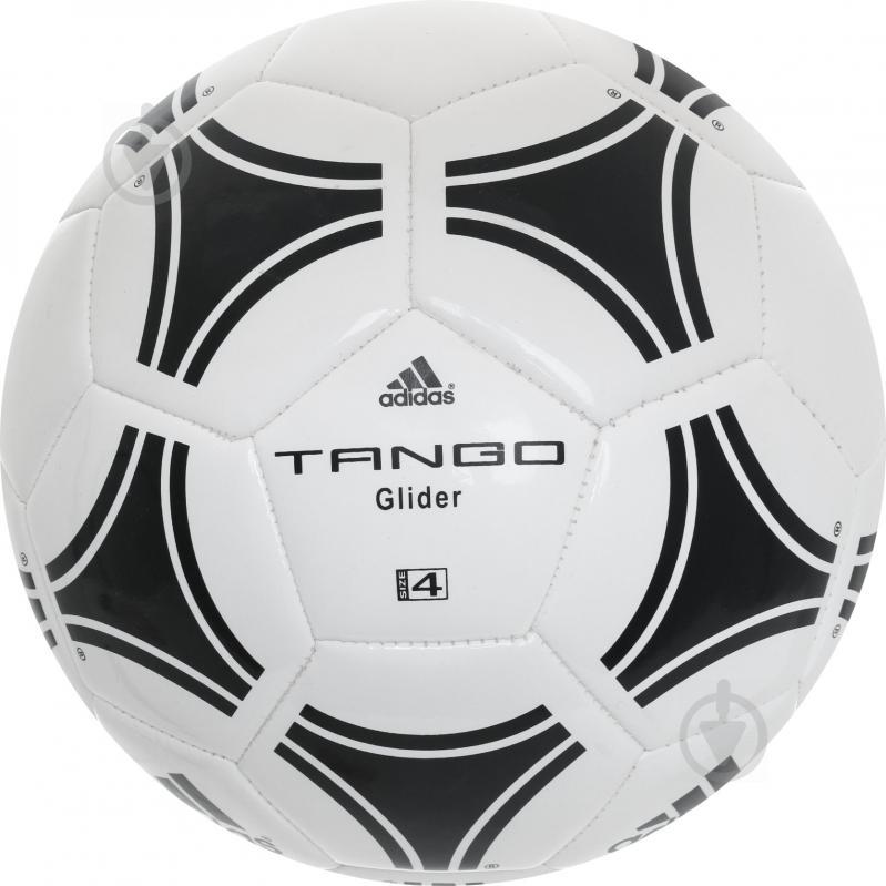 Футбольный мяч Adidas р. 4 сувенирный S12241 - фото 2