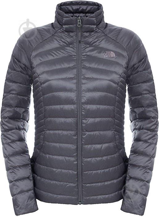 Куртка THE NORTH FACE W Tonnerro Fz Jacket р. L серый T92UAMHCW - фото 1