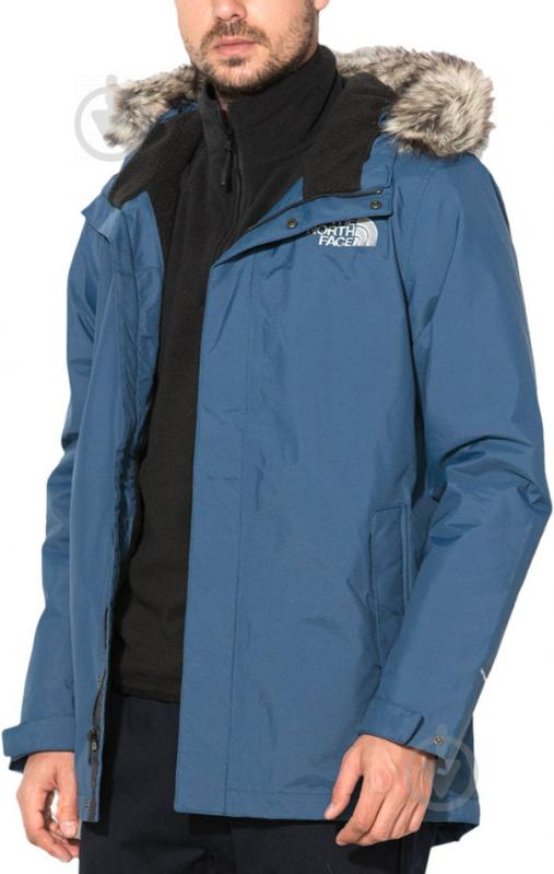 Куртка THE NORTH FACE M Sherpa Zaneck Jkt р. XL синий T937X3HDC - фото 3