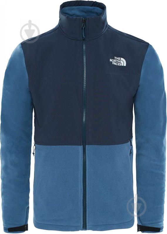 Джемпер THE NORTH FACE M Adj Denali Fleece T933HELMW р. XL синий - фото 1