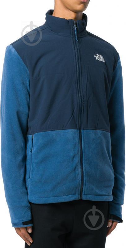 Джемпер THE NORTH FACE M Adj Denali Fleece T933HELMW р. XL синий - фото 4