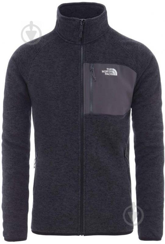 Джемпер THE NORTH FACE M Arashi Inner Fleece р. S синий T937FQAVM - фото 1