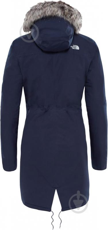 Куртка THE NORTH FACE W Zaneck Parka р. M темно-синий T92TUPH2G - фото 3