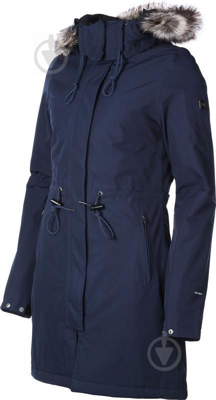 Куртка THE NORTH FACE W Zaneck Parka р. M темно-синий T92TUPH2G - фото 2