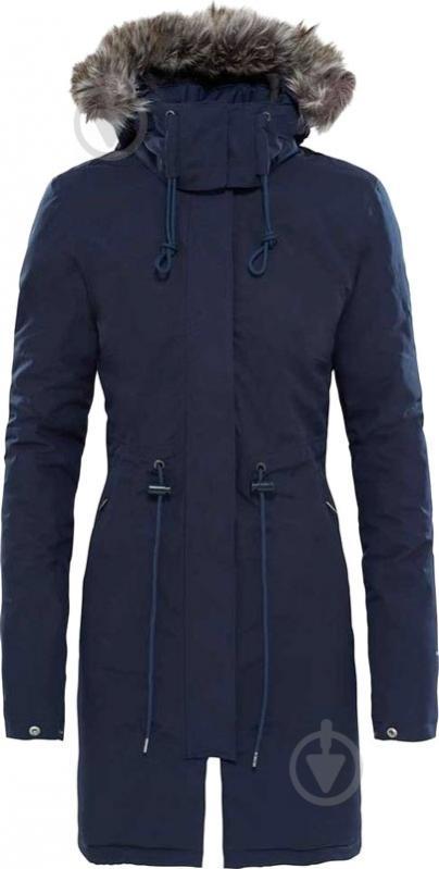 Куртка THE NORTH FACE W Zaneck Parka р. M темно-синий T92TUPH2G - фото 1