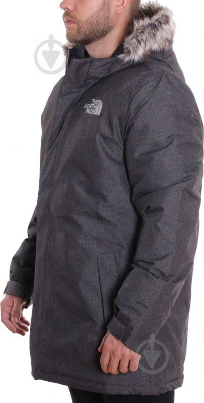Куртка THE NORTH FACE M Zaneck Jacket T92TUIJBU S серый - фото 2