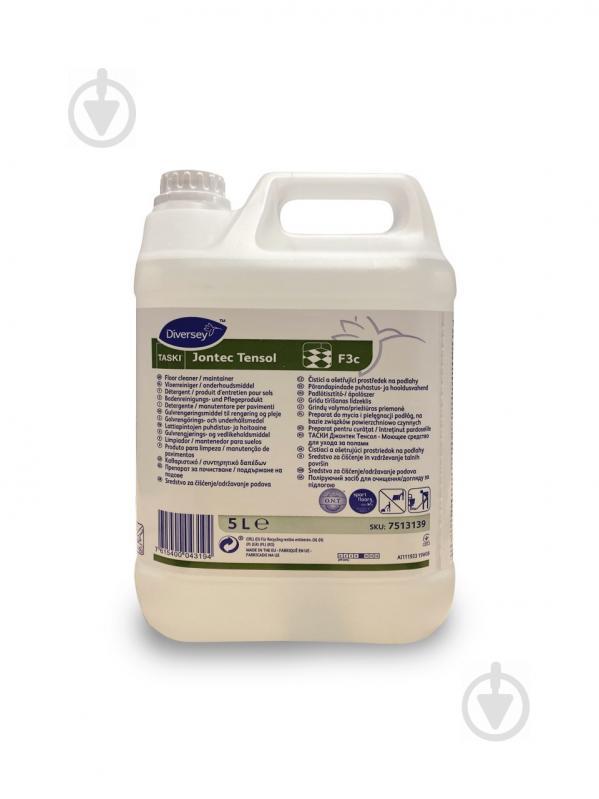 Миючий засіб для водостійкої підлоги Jontec Tensol W1779 5 л 7513139 TASKI - фото 1