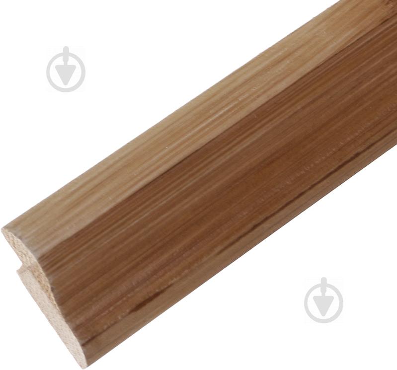 Молдинг для бамбукових шпалер верхній декор LZ-R202B коричневий - фото 1