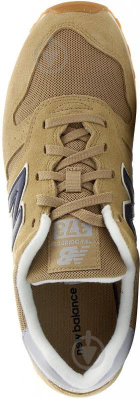 Кроссовки New Balance ML373OTO р.10 светло-коричневый - фото 7