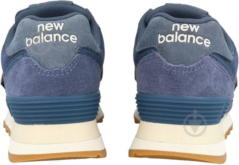 Кроссовки New Balance 574 NOP WL574CLI р.8 синий - фото 5