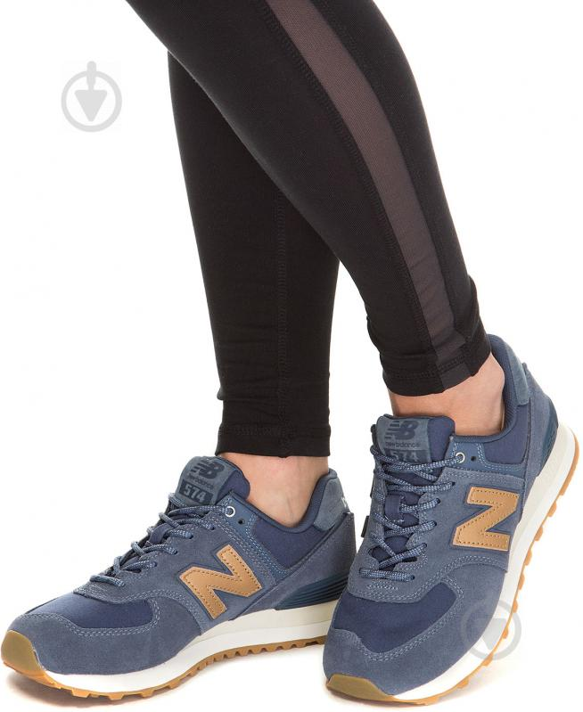 Кроссовки New Balance 574 NOP WL574CLI р.8 синий - фото 8