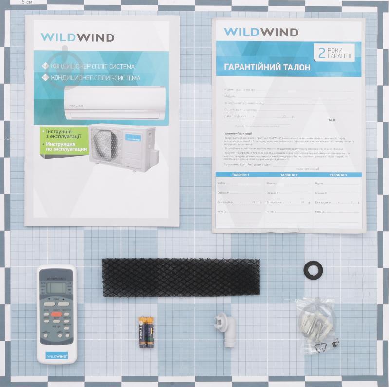 Кондиціонер Wild Wind WWM-AC-24H/GL - фото 7