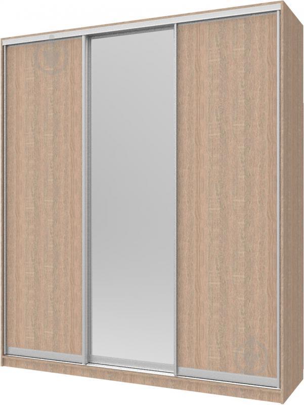 Шкаф-купе Сити24 Doros 2100x600x2400 мм дуб сонома двери ДСП/зеркало