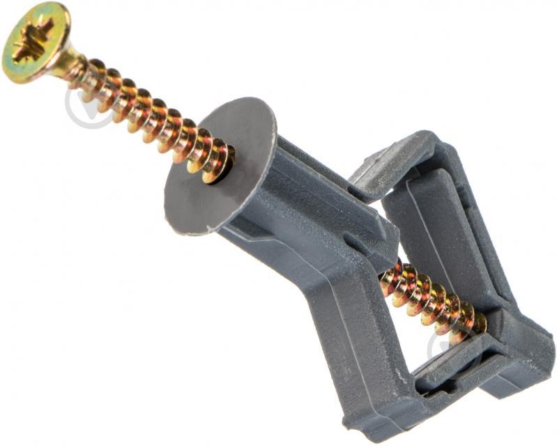 Дюбель для гипсокартона бабочка 10x50 мм 10 шт Expert Fix - фото 1