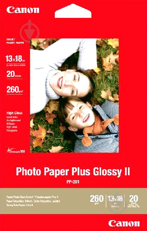 Фотопапір глянцевий Canon High Gloss PP-201 кольоровий - фото 1