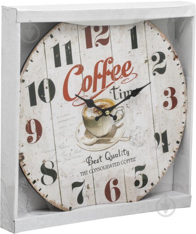 ᐉ Годинник настінний Coffe time 33 54eda7a0f1286