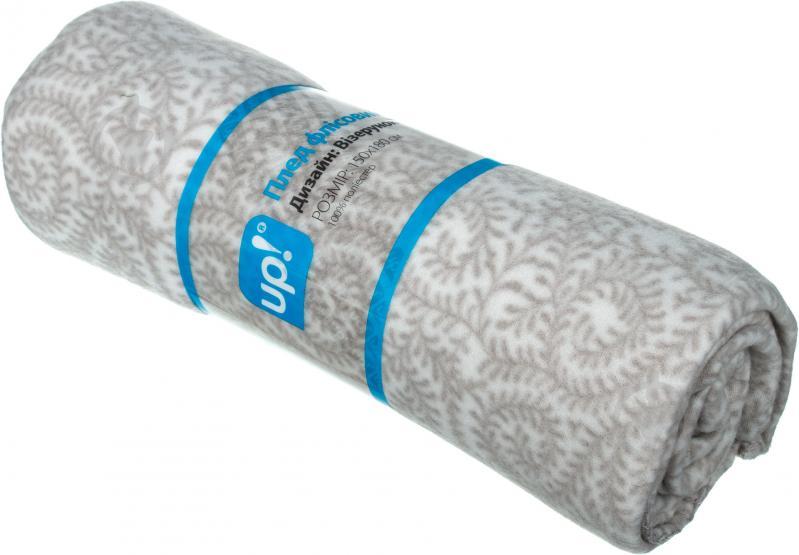 Плед Візерунок 150x180 см сірий UP! (Underprice) - фото 3