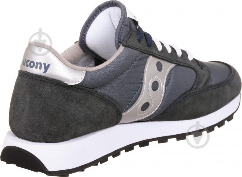 Кроссовки Saucony Jazz Lowpro 2044-2s р. 8 черно-голубой - фото 3