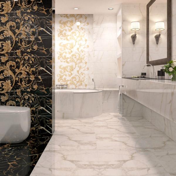 Плитка Golden Tile Terragres Saint Laurent белый 9А0510 60,7x60,7 - фото 4