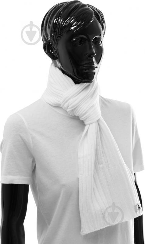 Шарф Adidas AY6624 OSFW білий - фото 2
