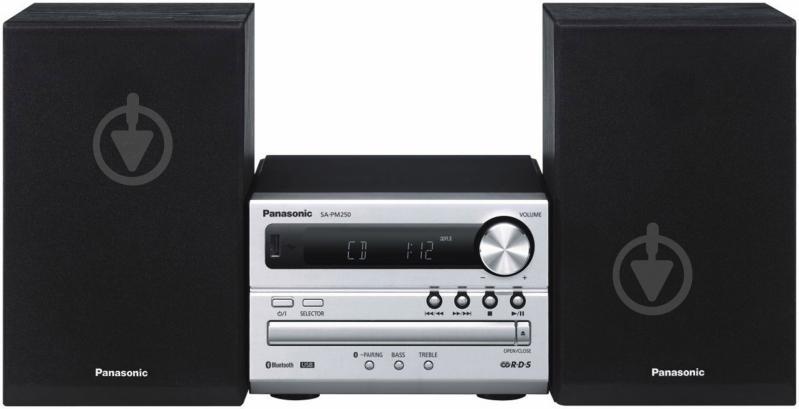 Музичний центр Panasonic SC-PM250EE-S - фото 1