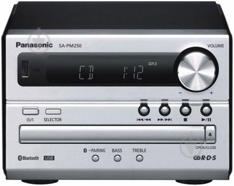 Музичний центр Panasonic SC-PM250EE-S - фото 2