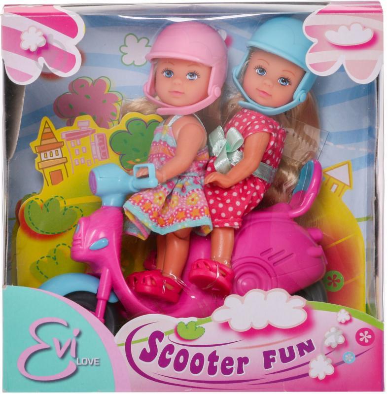 Кукла Simba Еви Веселое путешествие на скутере 5730485 - фото 1