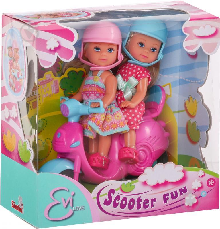 Кукла Simba Еви Веселое путешествие на скутере 5730485 - фото 2