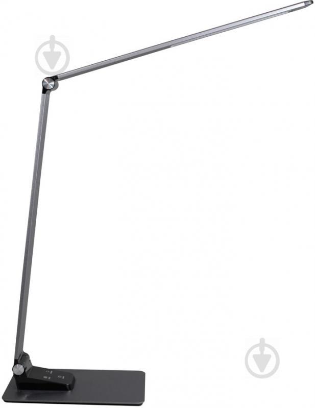 Настільна лампа офісна Светкомплект LED TB 009 Charge 9 Вт сірий - фото 5