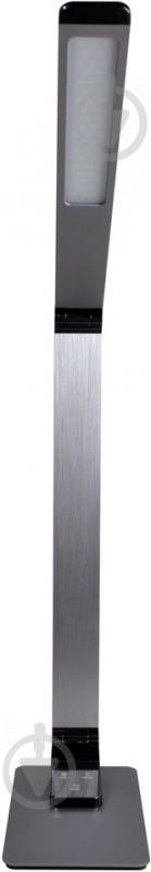 Настільна лампа офісна Светкомплект LED TB 009 Charge 9 Вт сірий - фото 3