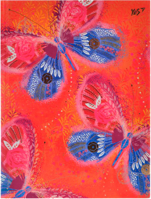 Блокнот Opium. Butterfly А5 YES - фото 1