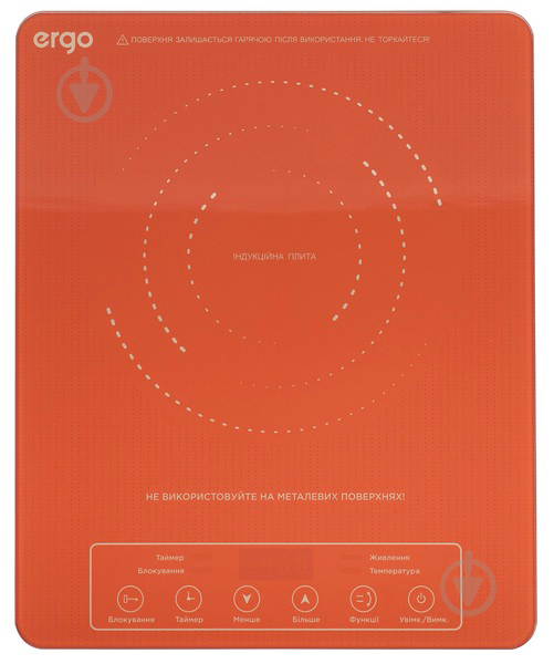 Настольная плита Ergo IHP-1701 - фото 1