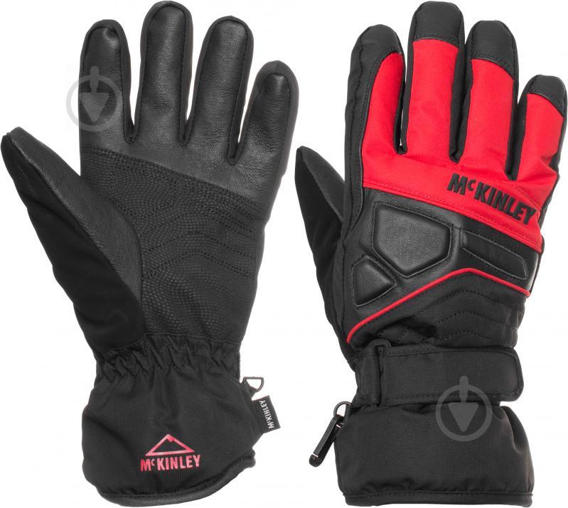 Рукавички McKinley 250131  р. 8,5  чорний із червоним - фото 1