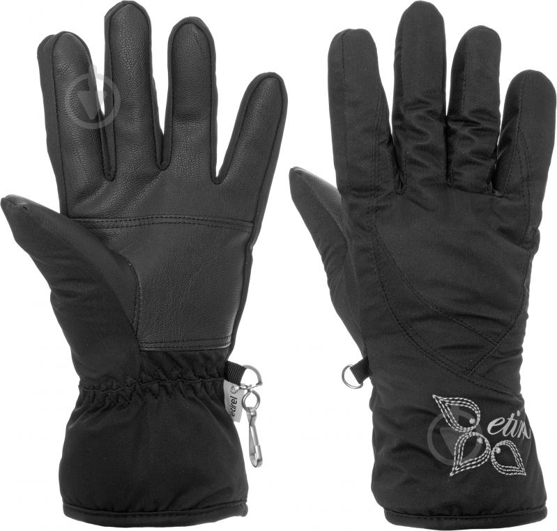 Перчатки Etirel 250123 р. 6 черный - фото 1