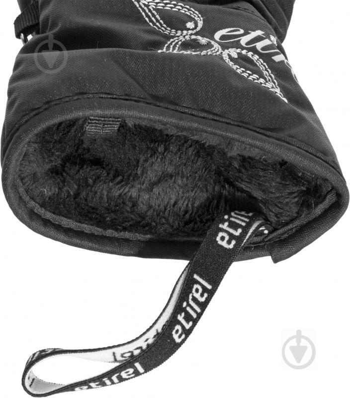 Перчатки Etirel 250123 р. 7 черный - фото 4