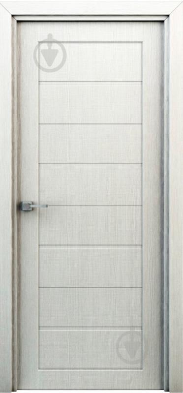 Дверное полотно Интерьерные двери Орион ПГ 700 мм перламутр - фото 1