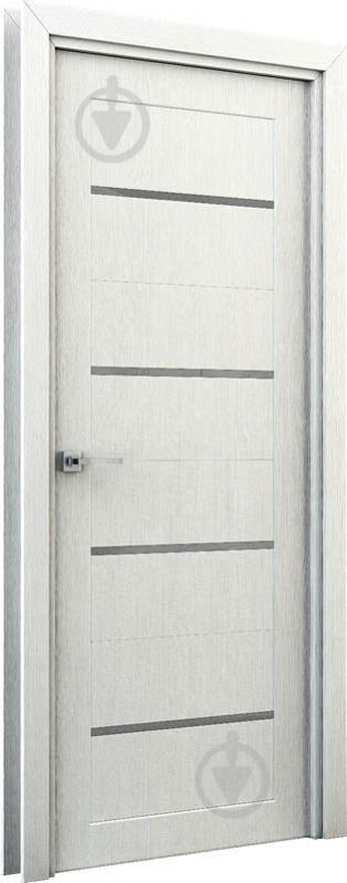 Дверне полотно Інтер'єрні двері Оріон ПГО 600 мм перламутр - фото 2