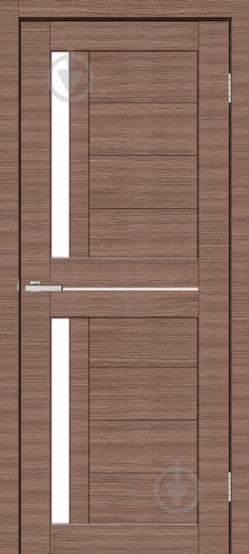 Дверне полотно ОМіС Cortex deco 01 ПО 800 мм дуб амбер лайн - фото 1